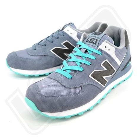 colorful new balance 574 new balance 574 teal black grey