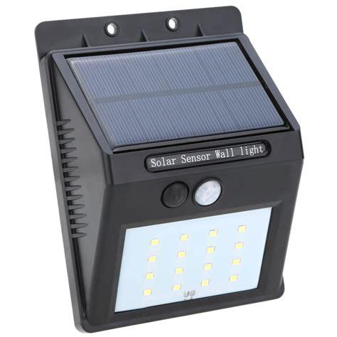 solar powered led lights solar powered led pir sensor light