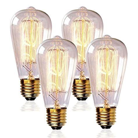 edison bulbs 60w incandescent light bulb e26 base st64