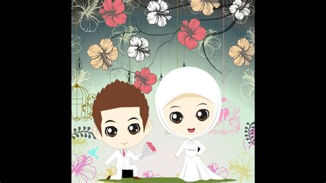 animasi wedding islami