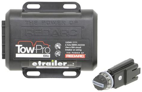 redarc tow pro elite trailer brake controller 1 to 3 axles proportional redarc brake