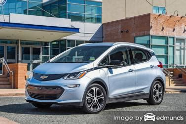 The 2019 chevy bolt ev electric hatchback started a trend that others are only now catching up to. Chevy Bolt EV Insurance Rates in Denver, CO