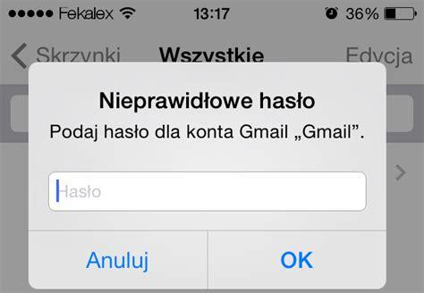 Problem Z Pobieraniem Poczty Gmail Na Iphone?