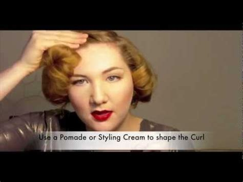The Marilyn: 1950s Short Hair Glamour Tutorial, Revised