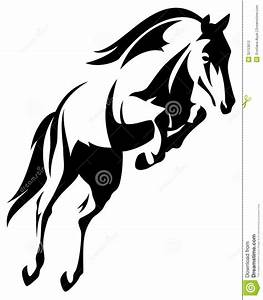 Show Jumper Horse Clipart - Clipart Suggest