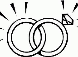 Vector And Wedding Ring Clipart Png Wedding Rings Black