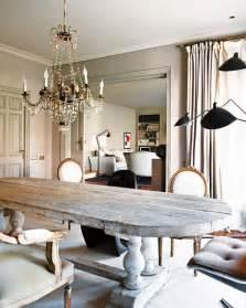 earthy chic rustic dining room tables megan morris