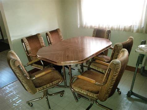 Kitchen Table Wleaf And 6 Swivel Chairs East Regina, Regina