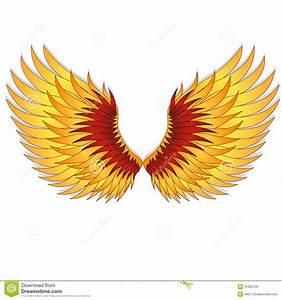Straighten Wings Of The Phoenix. Stock Photos - Image ...