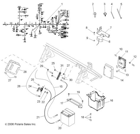 polaris ranger  wiring diagram  wiring diagram