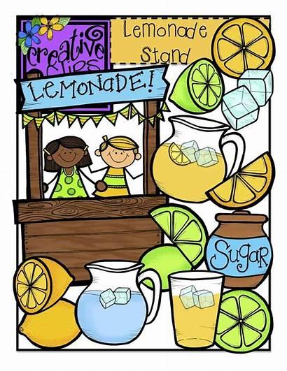 Lemonade Stand Clipart Chalkboard Creative Clips June