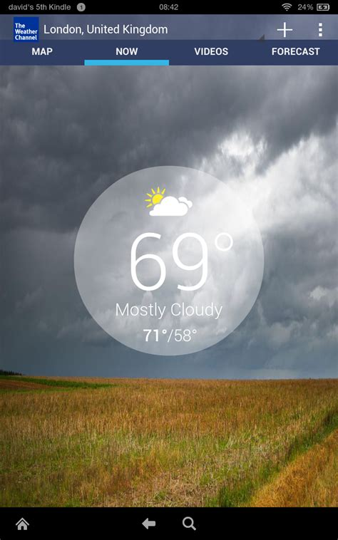 the weather channel app for android tablet the weather channel forecast radar alerts