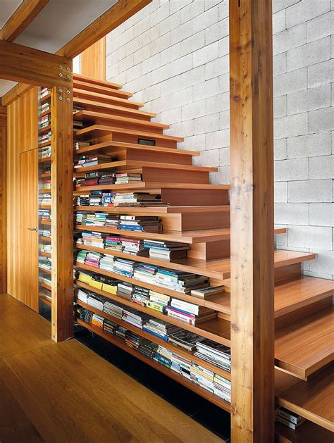 Stairs Shelf Ideas For Book Storage by 50 Creative Ways To Incorporate Book Storage In Around
