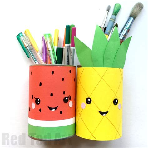 diy pencil holder for desk summer pencil holders ted s