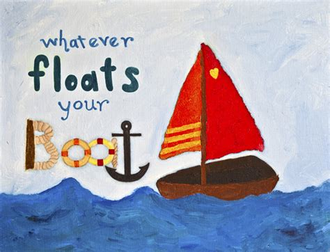 Whatever Floats Your Boat Linguee by Happy Abby Designs