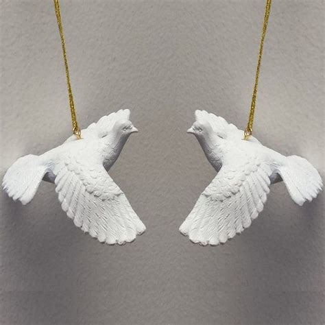 31 best turtle dove christmas ornaments images on