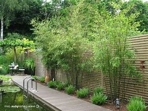 terrasse sichtschutz bambus With sichtschutz terrasse bambus