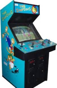 simpsons 4 player arcade game arcade machine geek
