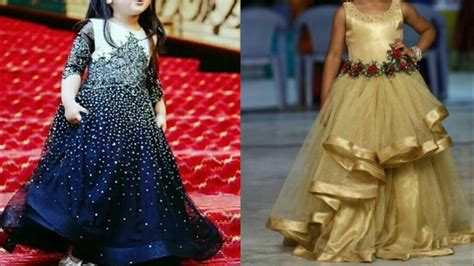 Wedding Dresses Indian : Top Beautiful Party Gown Design Ideas For Little Girl