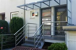 Haustürüberdachung Mit Seitenteil : haust r berdachung ronald meyer metallbau stahlbau ~ Whattoseeinmadrid.com Haus und Dekorationen