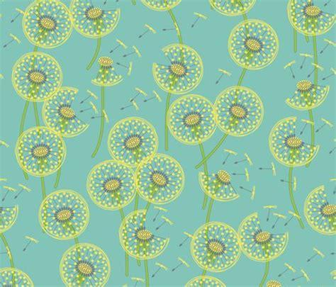 fanciful flight   dandelion  wallpaper