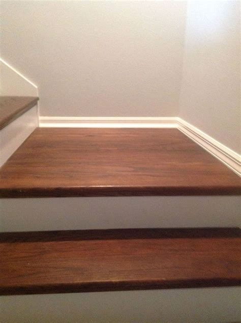 How To Cover Carpet With Wood by From Carpet To Wood Stairs Redo Cheater Version