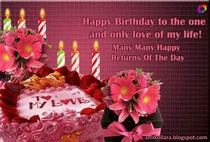 Best Birthday Wishes For Lover In English - Wishes ...