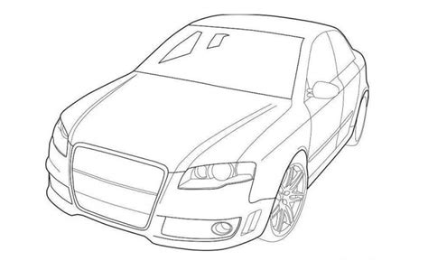 Bmw Kleurplaten A4 by Audi R8 Coloring Pages At Getcolorings Free