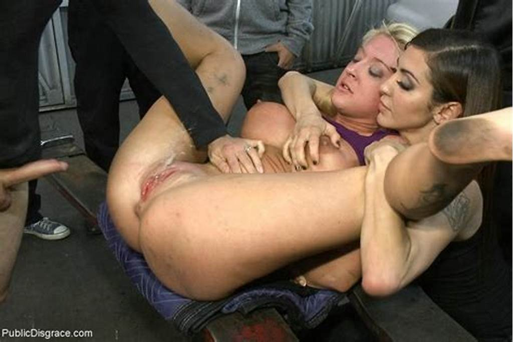 #Big #Titted #Blonde #Girl #Gets #Stripped #Naked #And #Fucked #In