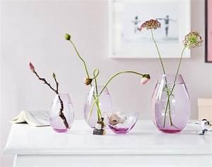 Einzelne Blume Vase : ausgefallene blumendeko farbenfrohe fr hlingsboten planungswelten ~ Indierocktalk.com Haus und Dekorationen