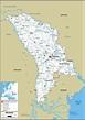 Detailed Clear Large Road Map of Moldova - Ezilon Maps
