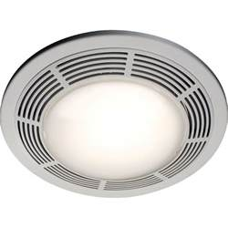nutone 8663rp white 100 cfm 3 5 sone ceiling mounted hvi certified bath fan with light and