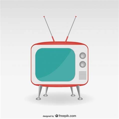 minimalist tv minimalist retro tv set vector free download