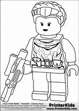 Coloring Lego Wars Star Pages Print Princess Padme Sheets Printable Ninjago Colouring Printerkids Characters Wolf Stormtrooper Birthday Party Drawing Warrior sketch template