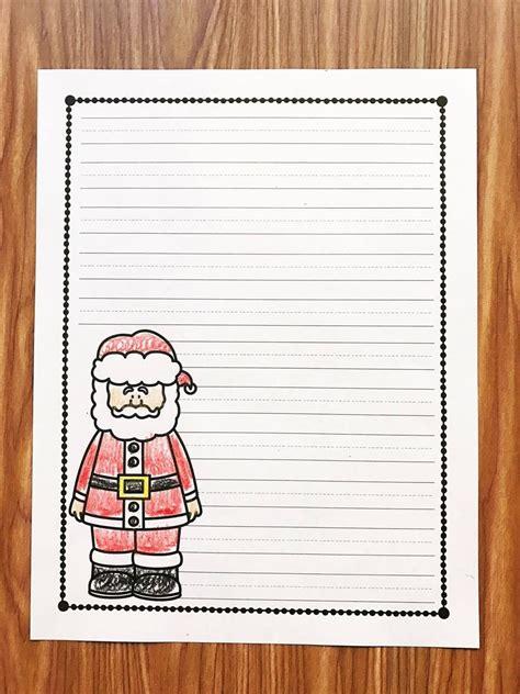 letter  santa simply kinder blog posts santa