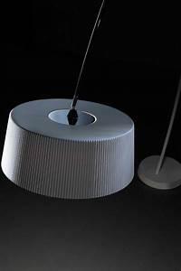 pleated shade arc floor lamp With tripod floor lamp with white pleated shade