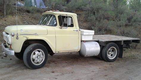 built ford tough  ford  flatbed