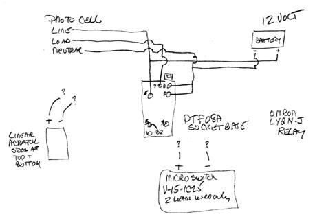 relay i need help in rewiring a chicken coop pop door electrical engineering stack exchange