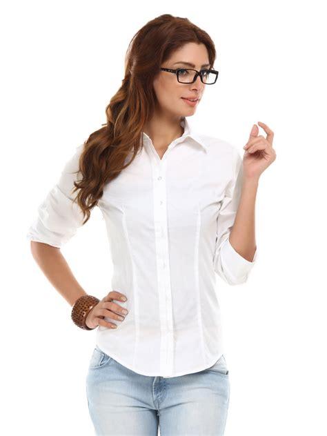 white blouse womens white shirt artee shirt