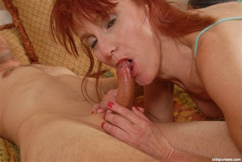 granny debra give a head and swallow sperm after hot blowjob at mature sex pictures