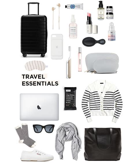 travel essentials for a flight danielle moss