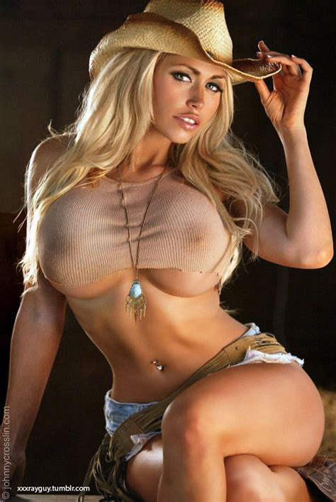 Sexy Blonde Cowgirl Nude Xxx Photos