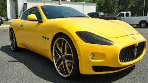 yellow maserati car of the day page 4 of 27 rides magazine