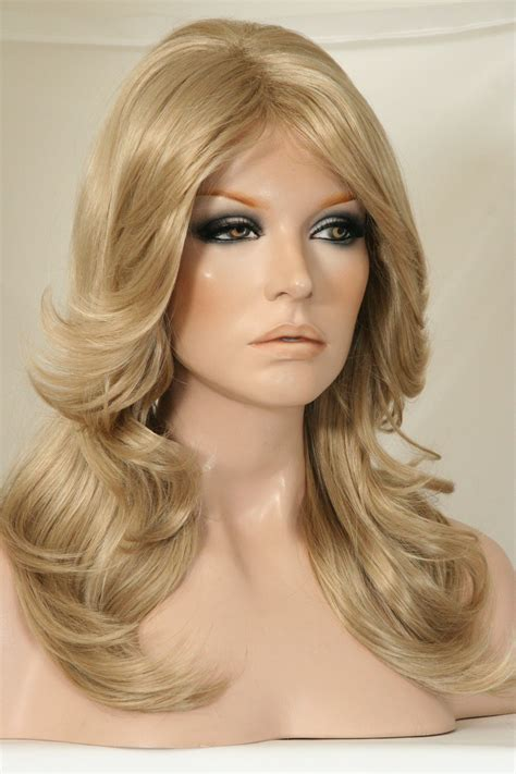 Farrah fawcett hairs styles are all the rage among women today. Be Farrah Fawcett for the night with this great wig!! I ...