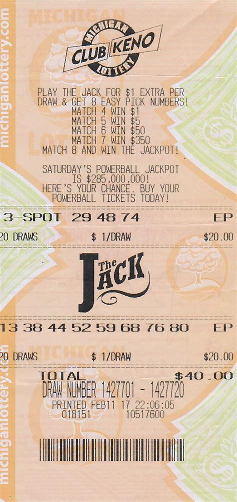 wayne county man wins  club keno  jack prize  michigan lottery   months