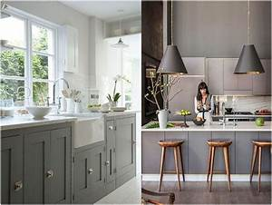 kitchen design trends 2018 the new center of your home With kitchen cabinet trends 2018 combined with botanical wall art decor