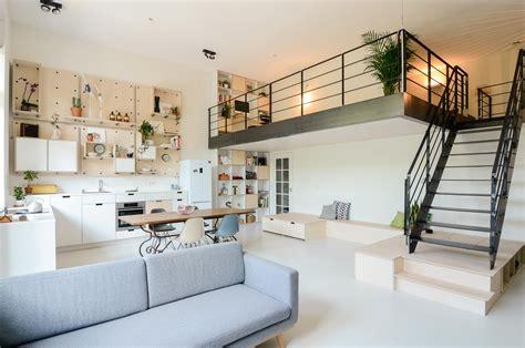 modern gallery amsterdam school building converted into modern family loft apartment idesignarch interior design