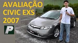 Ca U00e7ador De Carros  Honda Civic Exs 2007 Autom U00e1tico Em