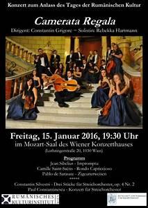 Concert De La Region 2016 : camerata regal concert la viena familia regal a rom niei royal family of romania ~ Medecine-chirurgie-esthetiques.com Avis de Voitures