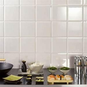 Faience Metro Blanc : carrelage mural m tro artens en fa ence blanc brillant ~ Farleysfitness.com Idées de Décoration